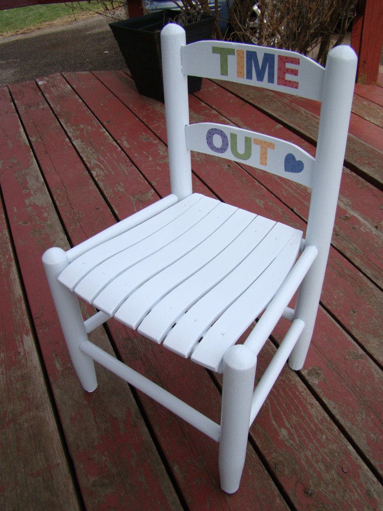 time out chair after