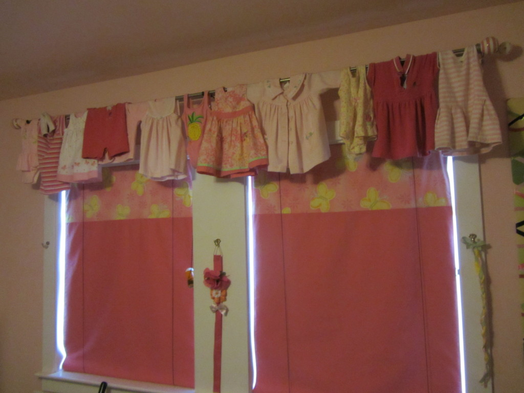 no sew bedroom valance a little design help
