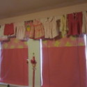 No Sew Bedroom Valance