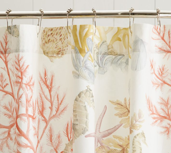 shower curtain vintage