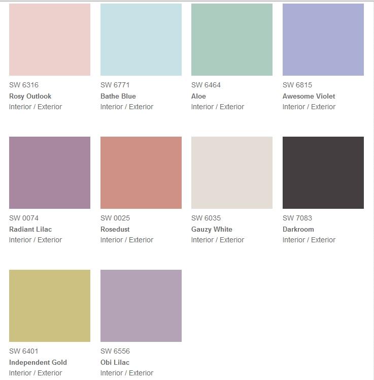 vintage color trend
