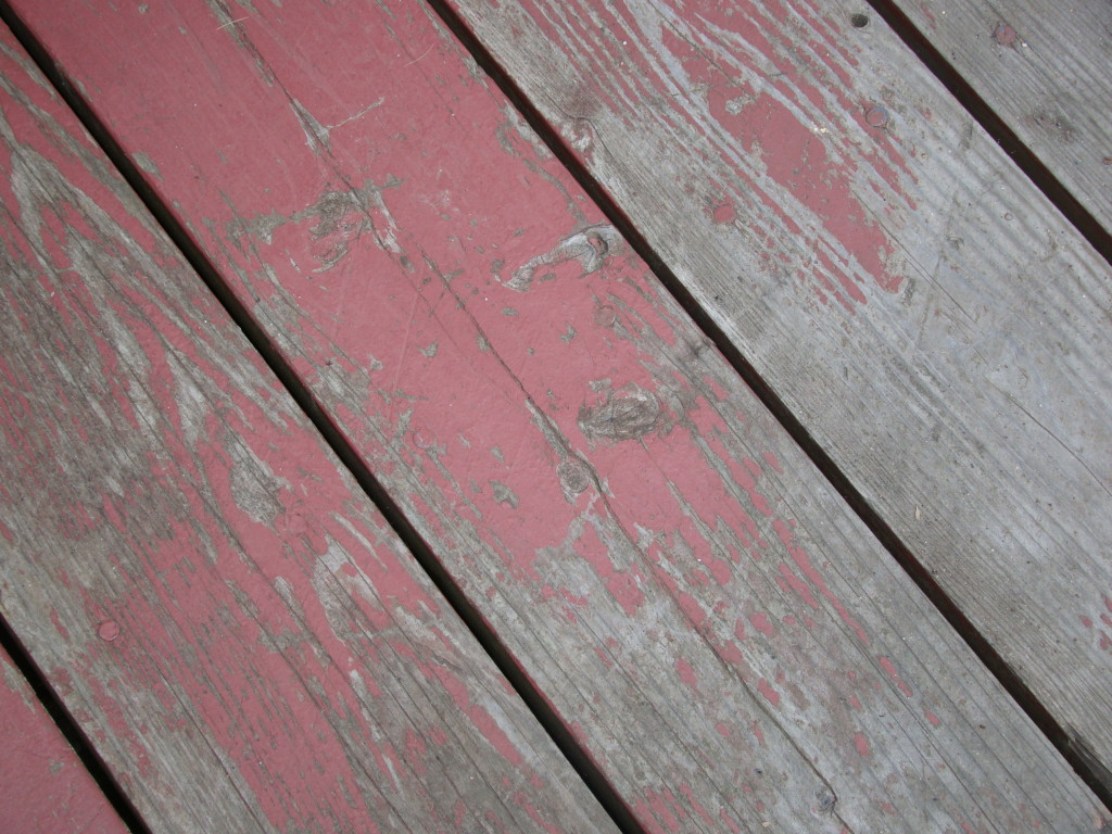 opaque stain deck