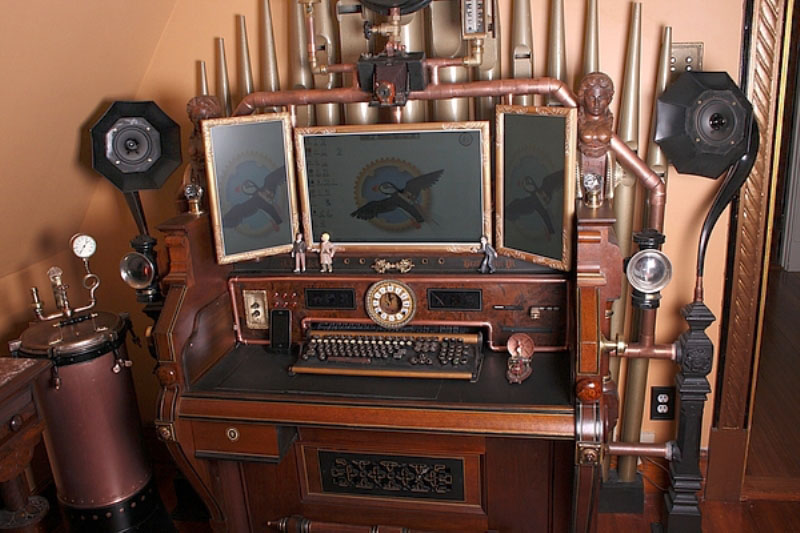 Design Trend: Steampunk | A Little Design Help