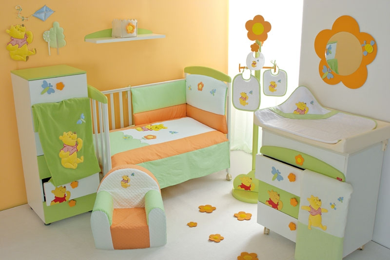 baby and toddler bedroom design