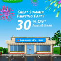 Sherwin Williams Paint Sale – July 2013