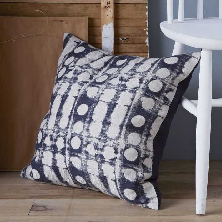 West Elm Dot Pillow