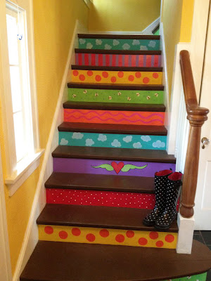 Bright Painted Stair
