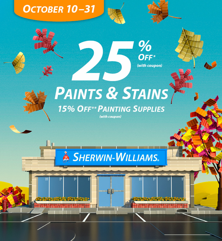 fall paint sale