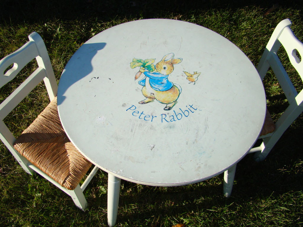child table chairs