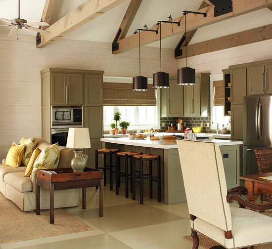 Kitchen Dining Room Floor Plans: Guest Post: Decorating Tips For Wide Open Spaces