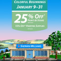 Sherwin Williams January 2014 Sale