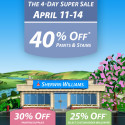 Sherwin Williams April Super Paint Sale 2014
