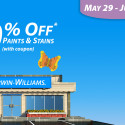 Sherwin Williams Paint Sale – June 2014