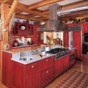 How To Deal With That Space Above the Kitchen Cabinets