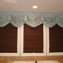 Before and After:  Master Bath Valance