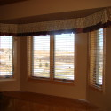 Before and After:  Bay Window Valance
