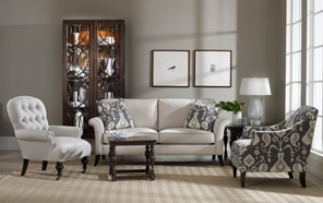 Sam Moore Furniture A Coordinating Living Room