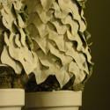 Silk Leaf Trees:  Upcycled Winter Decor