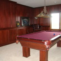 Before & After:  Billiard Room