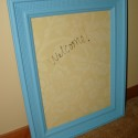Before & After:  Custom Dry Erase Board