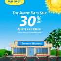 Sherwin Williams Paint Sale May 2013