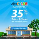 Sherwin Williams Anniversary Sale