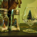 Repurposed Christmas Decor Part 2:  More Snow Globes