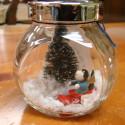 Repurposed Christmas Decor Part 3:  More Snowy Scenes