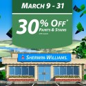 Sherwin Williams Paint Sale March 2014