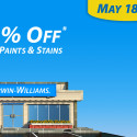 Sherwin Williams Paint Sale – May 2014