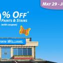 Sherwin Williams Paint Sale – June 2014