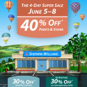 Sherwin Williams Super Sale Spring 2015